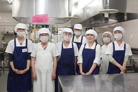 積極募集中!資格不要施設内の厨房で、洗浄や盛り付け業務です。